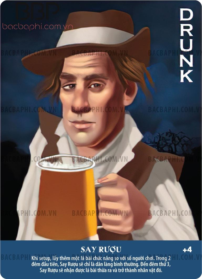 Drunk (Say rượu)